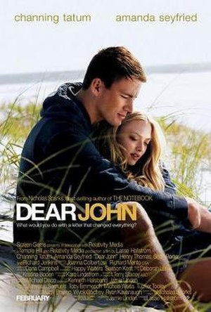Dear John (2010 film) - Image: Dear John film poster