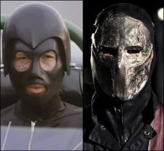 Frankenstein (Death Race) - Frankenstein as he appears in Death Race 2000 (left) and Death Race 1-3 (right)