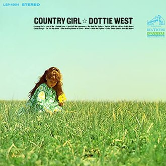 Country Girl (Dottie West album) - Image: Dottie West Country Girl