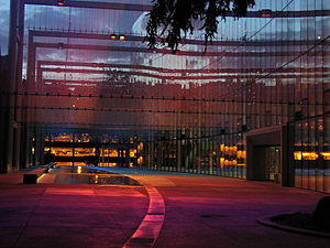McCaw Hall - Dreaming in Color, a Three-Dimensional Color Field by Leni Schwendinger