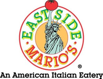 East Side Mario's - The original logo, including the Statue of Liberty