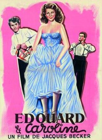 Edward and Caroline - Film poster