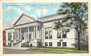 Emeline Fairbanks Memorial Library - Image: Efm library