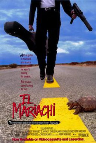 El Mariachi - Home video poster