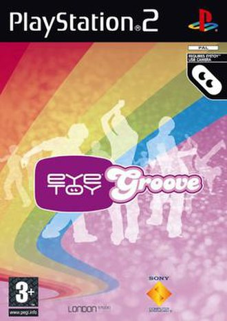 EyeToy: Groove - European cover