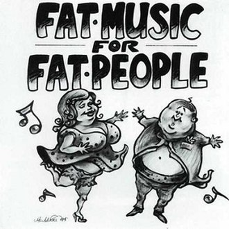 Fat Music for Fat People - Image: Fat Music For Fat People albumcover