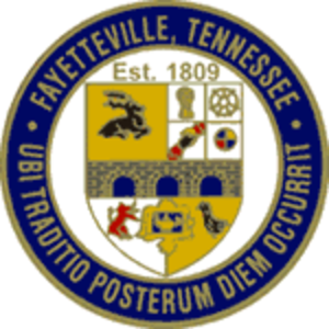 Fayetteville, Tennessee - Image: Fayetteville(Tenness ee)City Seal
