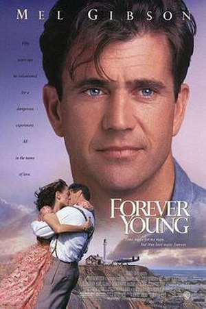 Forever Young (1992 film) - Theatrical release poster