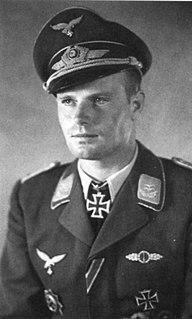 Franz Götz (pilot) German World War II flying ace