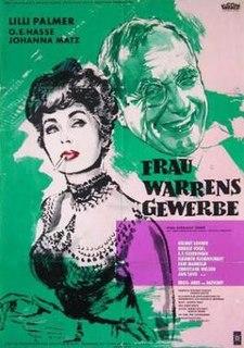<i>Mrs. Warrens Profession</i> (film) 1960 film