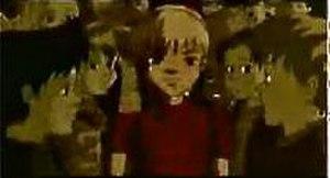 "Freak on a Leash - A screenshot from the ""Freak on a Leash"" music video"