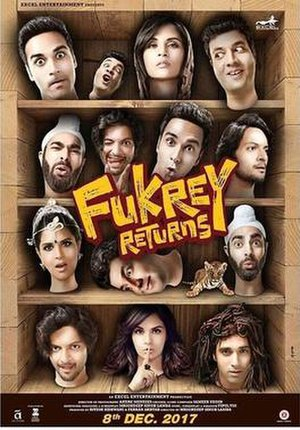 Fukrey Returns - Theatrical release poster