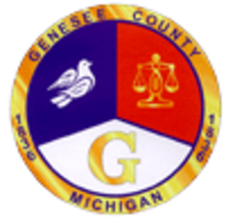 Genesee County, Michigan - Image: Genessee County logo