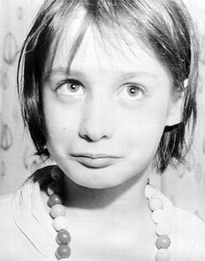 Genie (feral child) - The first publicly released picture of Genie, taken just after California authorities took control of her care at the age of 13