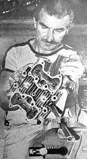 Geoff Monty British motorcycle racer