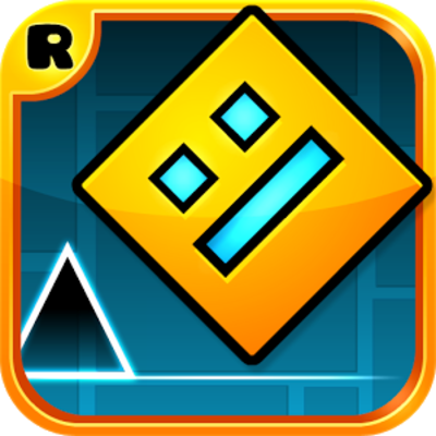 Picture of a game: Geometry Dash
