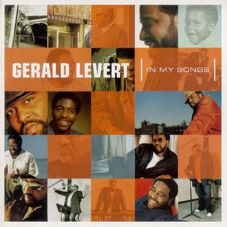 Gerald Levert - Cover for Levert's final album, In My Songs, released after his death