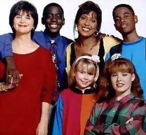 Getting By - Getting By cast. From top left: Williams, Richmond, Hopkins, Santana, Sterling and Vannice.