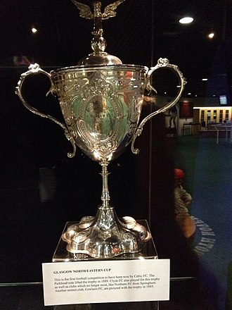 Glasgow North Eastern Cup - Image: Glasgow North Eastern Cup Trophy