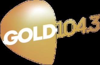 Gold 104.3 - Image: Gold 104.3 logo 2015