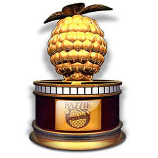 Award presented in recognition of the worst in film