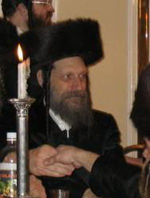 Burshtin (Hasidic dynasty) - Grand Rabbi David Eichenshtein of Burshtin