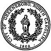 Official seal of Greensboro, North Carolina