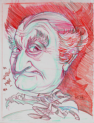 Al Lewis (actor) - Al Lewis caricature by Jim McDermott