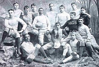 Hopkins School - The 1891 football team