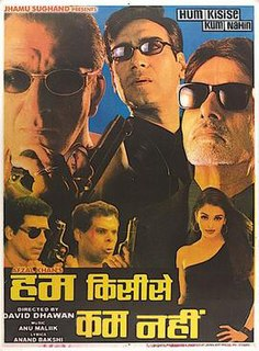 <i>Hum Kisise Kum Nahin</i> (2002 film) 2002 film by David Dhawan