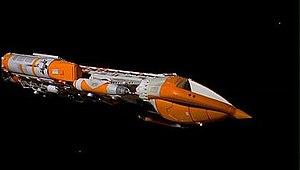 War Games (Space: 1999) - Image: Hawk MK IX