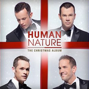 The Christmas Album (Human Nature album) - Image: Human Nature The Christmas Album cover art