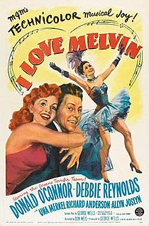 <i>I Love Melvin</i> 1953 film by Don Weis
