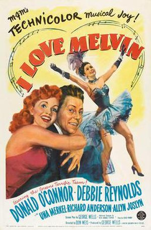 I Love Melvin - Theatrical Film Poster