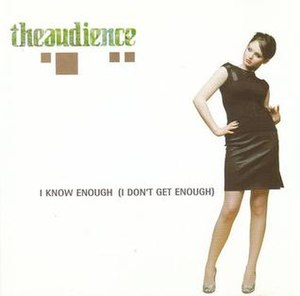 I Know Enough (I Don't Get Enough) - Image: Iknowenough CD2