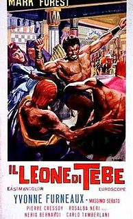 <i>The Lion of Thebes</i> 1964 film by Giorgio Ferroni