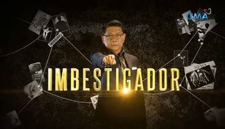 <i>Imbestigador</i> Philippine television show