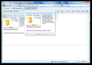 Web Slice - Image: Internet Explorer 8 Web Slice