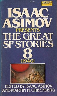 <i>Isaac Asimov Presents The Great SF Stories 8</i> (1946) book by Theodore Sturgeon