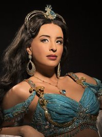 Princess Jasmine - Courtney Reed as Jasmine in the stage musical
