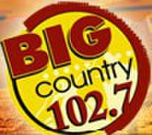 KHGE - Big Country 102.7 logo