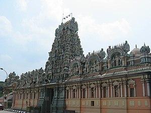 Tamil diaspora - Sri Kandaswamy Temple, Brickfields, Malaysia.