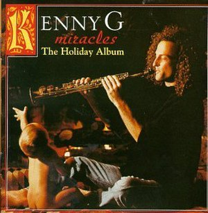 Miracles: The Holiday Album - Image: Kenny G Miracles Cover