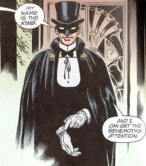 King Standish - Image: King Standish (JSA panel)