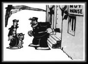 "I Was Killing When Killing Wasn't Cool - A still from the 1925 Out of the Inkwell cartoon ""Ko-Ko Nuts"""