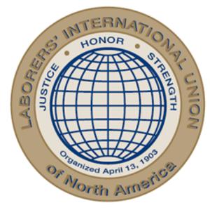 Laborers' International Union of North America - Image: LIUNA logo