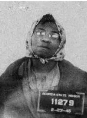 Lena Baker - Lena Baker's February 23, 1945 mugshot