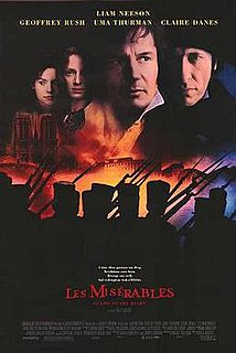 <i>Les Misérables</i> (1998 film) 1998 English-language film by Bille August based on the novel of the same name