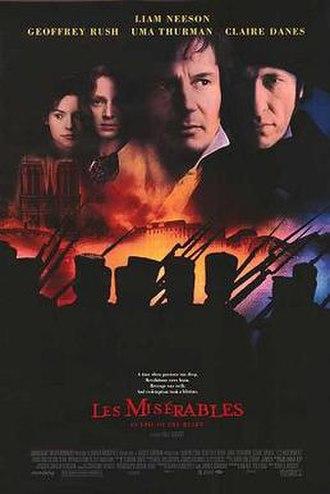 Les Misérables (1998 film) - Theatrical release poster
