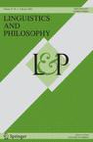 Linguistics and Philosophy - Image: Ling&phil